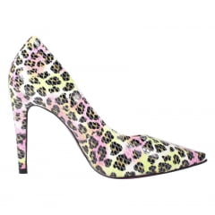 SCARPIN SALTO ALTO CROCO ANIMAL PRINT COLORIDO
